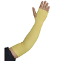 PIP® One Size Fits Most Yellow 2-Ply Kevlar® Cut Resistant Sleeve With Thumb Hole