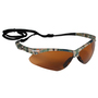 Kimberly-Clark Professional* Jackson Safety* Nemesis* Camo Safety Glasses With Bronze Hard Coat Lens