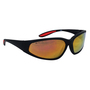 Kimberly-Clark Professional* Smith & Wesson® 38 Special* Black Safety Glasses With Red Mirror/Hard Coat Lens
