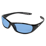 Kimberly-Clark Professional* KleenGuard™ Hellraiser* Black Safety Glasses With Blue Hard Coat Lens (Lead time for this product may be longer than normal.)