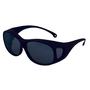 Kimberly-Clark Professional* KleenGuard™ OTG* Black Safety Glasses With Smoke Anti-Fog/Hard Coat Lens (Lead time for this product may be longer than normal.)
