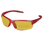 Kimberly-Clark Professional* Smith & Wesson® Equalizer* Red Safety Glasses With Amber Hard Coat Lens