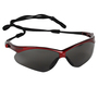 Kimberly-Clark Professional* KleenGuard™ Nemesis* Red Safety Glasses With Smoke Hard Coat Lens (Lead time for this product may be longer than normal.)