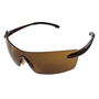 Kimberly-Clark Professional* Smith & Wesson® Caliber* Brown Safety Glasses With Brown Anti-Fog/Hard Coat Lens