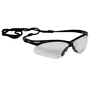 Kimberly-Clark Professional* KleenGuard™ Nemesis* Black Safety Glasses With Clear Hard Coat Lens (Lead time for this product may be longer than normal.)