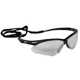 Kimberly-Clark Professional* KleenGuard™ Nemesis* Black Safety Glasses With Clear Indoor/Outdoor Hard Coat Lens (Lead time for this product may be longer than normal.)