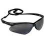 Kimberly-Clark Professional* KleenGuard™ Nemesis* Black Safety Glasses With Smoke Mirror/Hard Coat Lens (Lead time for this product may be longer than normal.)