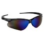 Kimberly-Clark Professional* Jackson Safety* Nemesis* Black Safety Glasses With Blue Mirror/Hard Coat Lens