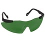 Kimberly-Clark Professional* Smith & Wesson® Magnum® Black Safety Glasses With IRUV Shade 5 Hard Coat Lens