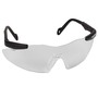 Kimberly-Clark Professional* Smith & Wesson® Magnum® Black Safety Glasses With Clear Anti-Fog/Hard Coat Lens