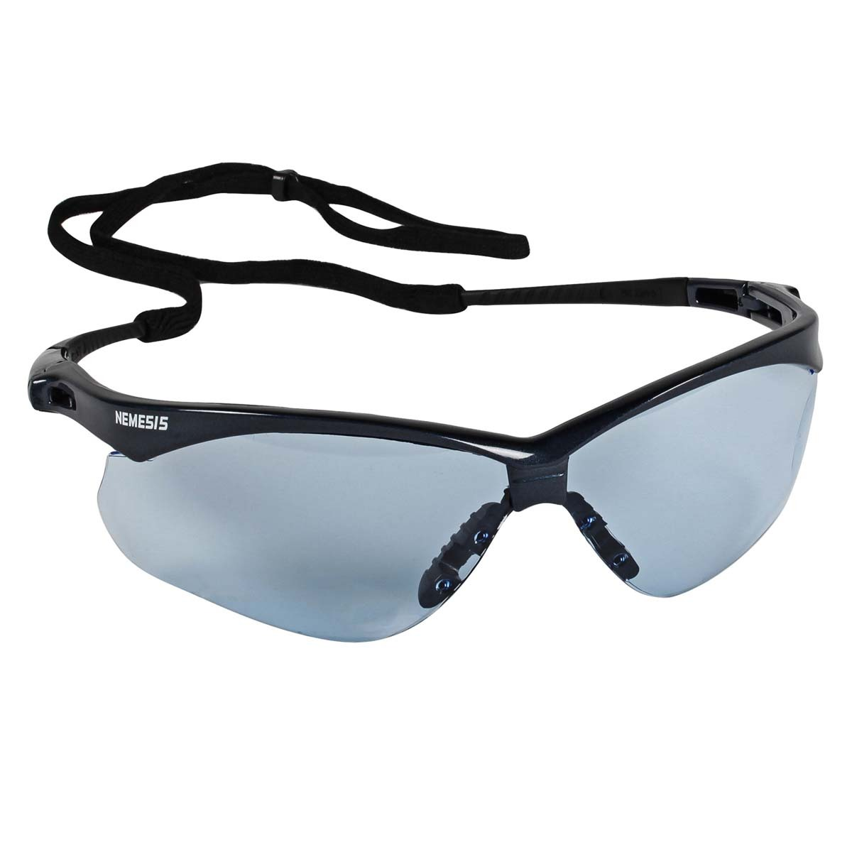 335865507fd6 Kimberly-Clark Professional* Jackson Safety* Nemesis* Blue Safety Glasses  With Light Blue