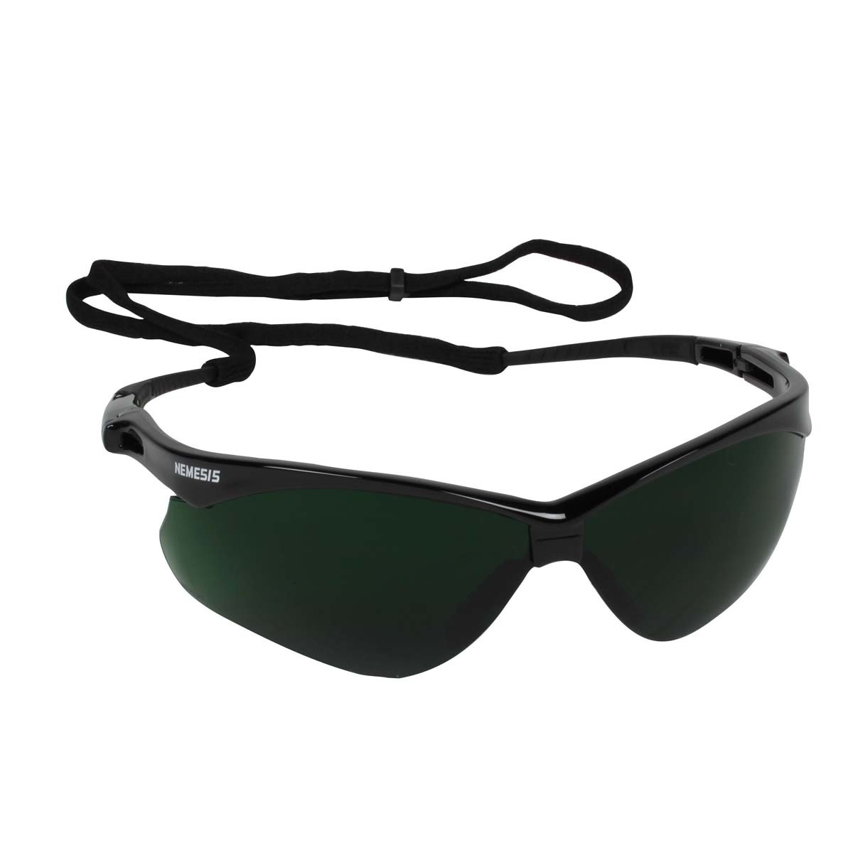 9d778ae847c Kimberly-Clark Professional  Jackson Safety  Nemesis  Black Safety Glasses  With IRUV Shade