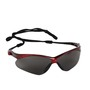 Kimberly-Clark Professional* Jackson Safety* Nemesis* Red Safety Glasses With Smoke Hard Coat Lens