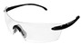 Kimberly-Clark Professional* Smith & Wesson® Caliber* Black Safety Glasses With Clear Anti-Fog/Hard Coat Lens