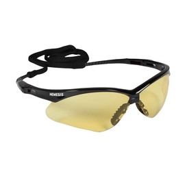 Kimberly-Clark Professional* Jackson Safety* Nemesis* Black Safety Glasses With Amber Hard Coat Lens