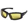 Kimberly-Clark Professional* Jackson Safety* Calico* Black Safety Glasses With Amber Anti-Fog/Anti-Scratch Lens