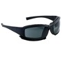 Kimberly-Clark Professional* Jackson Safety* Calico* Black Safety Glasses With Gray Anti-Fog/Anti-Scratch Lens
