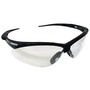 Kimberly-Clark Professional* Jackson Safety* Nemesis* Black Safety Glasses With Clear Anti-Fog/Hard Coat Lens
