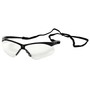 Kimberly-Clark Professional* Jackson Safety* Nemesis* 2 Black Safety Glasses With Clear Hard Coat Lens