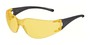 Kimberly-Clark Professional* Jackson Safety* Element* Black Safety Glasses With Amber Uncoated Lens