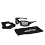 Kimberly-Clark Professional* Jackson Safety* Calico* Black Safety Glasses With Half Shade Anti-Fog/Anti-Scratch Lens