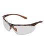 Kimberly-Clark Professional* Jackson Safety* Maxfire* Brown Safety Glasses With Clear Indoor-Outdoor/Anti-Fog/Anti-Scratch Lens