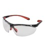 Kimberly-Clark Professional* Jackson Safety* Maxfire* Black And Red Safety Glasses With Clear Anti-Fog/Anti-Scratch Lens