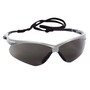 Kimberly-Clark Professional* Jackson Safety* Nemesis* Silver Safety Glasses With Smoke Anti-Fog/Hard Coat Lens