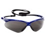 Kimberly-Clark Professional* Jackson Safety* Nemesis* Blue Safety Glasses With Smoke Anti-Fog/Hard Coat Lens