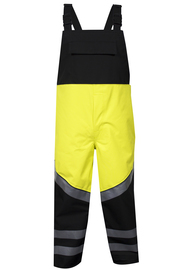 National Safety Apparel® 3X Fluorescent Yellow And Black HYDROLITE FR™ 83 oz GORE® PYRAD® Fabric Technology 31 cal/cm² FR Rainwear Bib Overall (Type R Class 3)