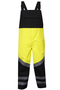 National Safety Apparel® X-Large Fluorescent Yellow And Black HYDROLITE FR™ 83 oz GORE® PYRAD® Fabric Technology 31 cal/cm² FR Rainwear Bib Overall (Type R Class 3)