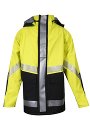 National Safety Apparel® Large Fluorescent Yellow And Black 35