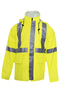 National Safety Apparel® X-Large Fluorescent Yellow 30