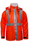 National Safety Apparel Small Orange 30