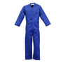 Stanco Safety Products™ Size 2X Tall Royal Blue Indura® Arc Rated Flame Resistant Coveralls With Front Zipper Closure
