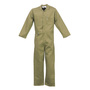 Stanco Safety Products™ Size 2X Short Tan Indura® Arc Rated Flame Resistant Coveralls With Front Zipper Closure