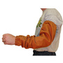 Stanco Safety Products™ One Size Fits Most Rust Brown Cotton Flame Resistant Sleeves With Elastic Closure