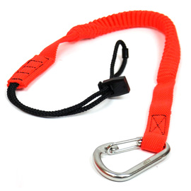 Ty-Flōt Orange Nylon STRONGHOLD™ Tool Lanyard With S/S Carabineer (10 Per Pack)