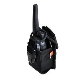 Ty-Flōt Black STRONGHOLD™ Radio Pouch With Tether Loops