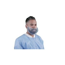 Keystone Safety® Large Blue Latex Free Nylon Honeycomb Beard Cover