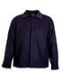 National Safety Apparel 4X Blue Wool Coat With Snap Front Closure