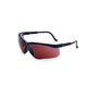 Uvex® by Honeywell Genesis Black Safety Glasses With SCT Gray Polycarbonate Hydroshield® Anti-Fog Lens