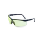 Honeywell Uvex Genesis® Black Safety Glasses With SCT Low IR HydroShield® Anti-Fog Lens