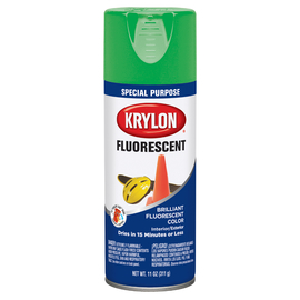 Krylon® Products Group 11 Ounce Aerosol Can Fluorescent Green Krylon® Indoor/Outdoor Paint (12 Per Case)