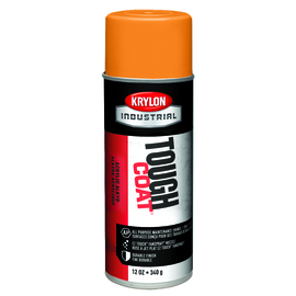 Krylon Industrial 16 Ounce Aerosol Can Gloss OSHA Orange (#60 Equipment Orange) Tough Coat® Acrylic Enamel