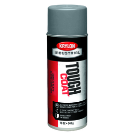Krylon Industrial 16 Ounce Aerosol Can Gloss Industrial Gray Tough Coat® Acrylic Enamel