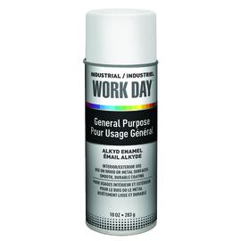 Krylon Industrial 16 Ounce Aerosol Can Gloss Gloss White Work Day™ Alkyd Enamel | Tuggl