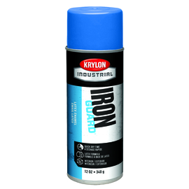 Krylon Industrial 16 Ounce Aerosol Can High Gloss OSHA Blue Iron Guard® Acrylic Enamel