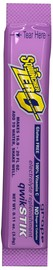 Sqwincher® .11 Ounce Grape Flavor Qwik Stik™ ZERO Powder Concentrate Packet Electrolyte Drink