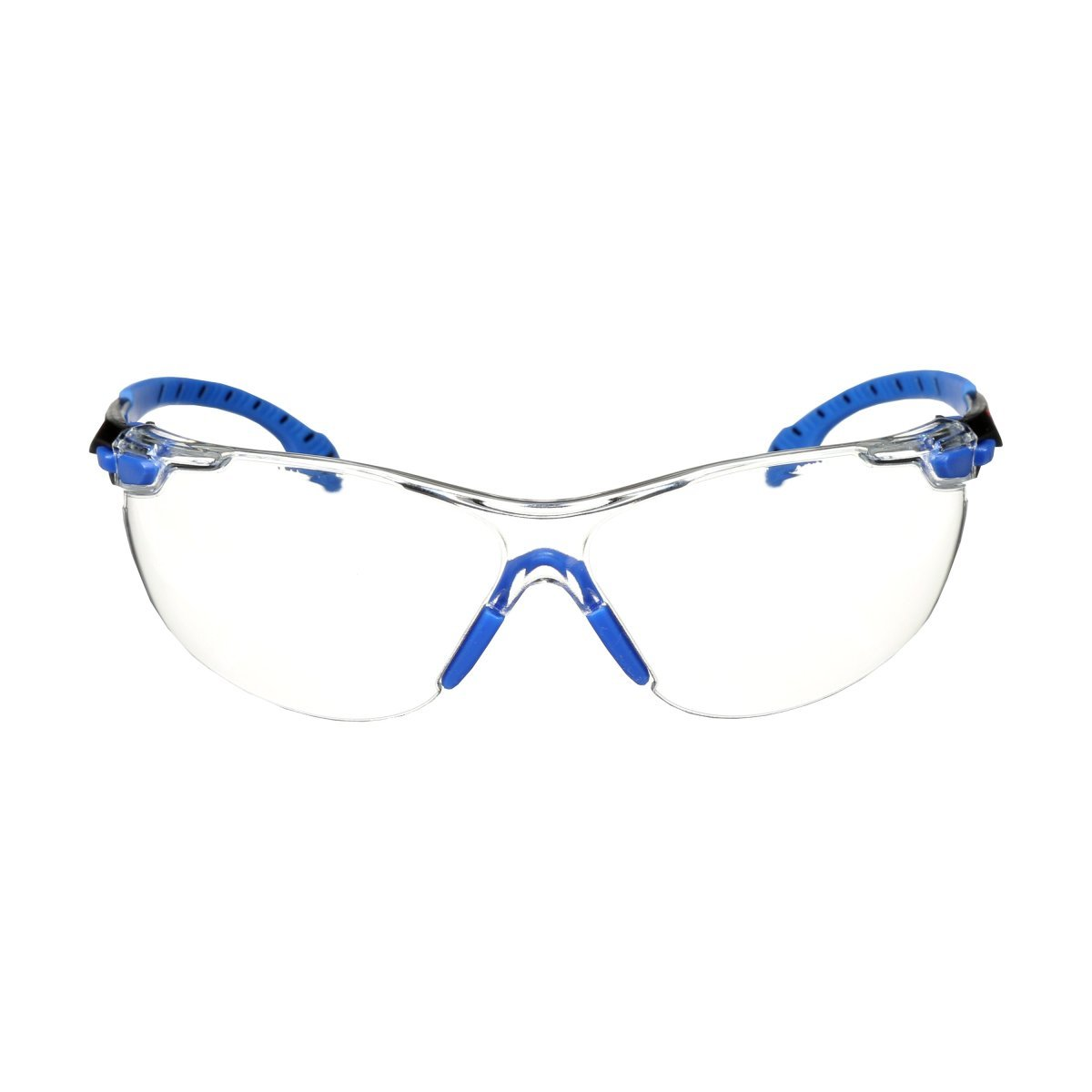 3M™ Solus™ Blue Black Safety Glasses With Clear Anti-Fog Lens aa7556cd6b1a